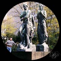 Beethoven and Kolbe's monument