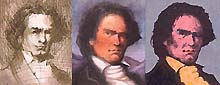 A picture of Beethoven